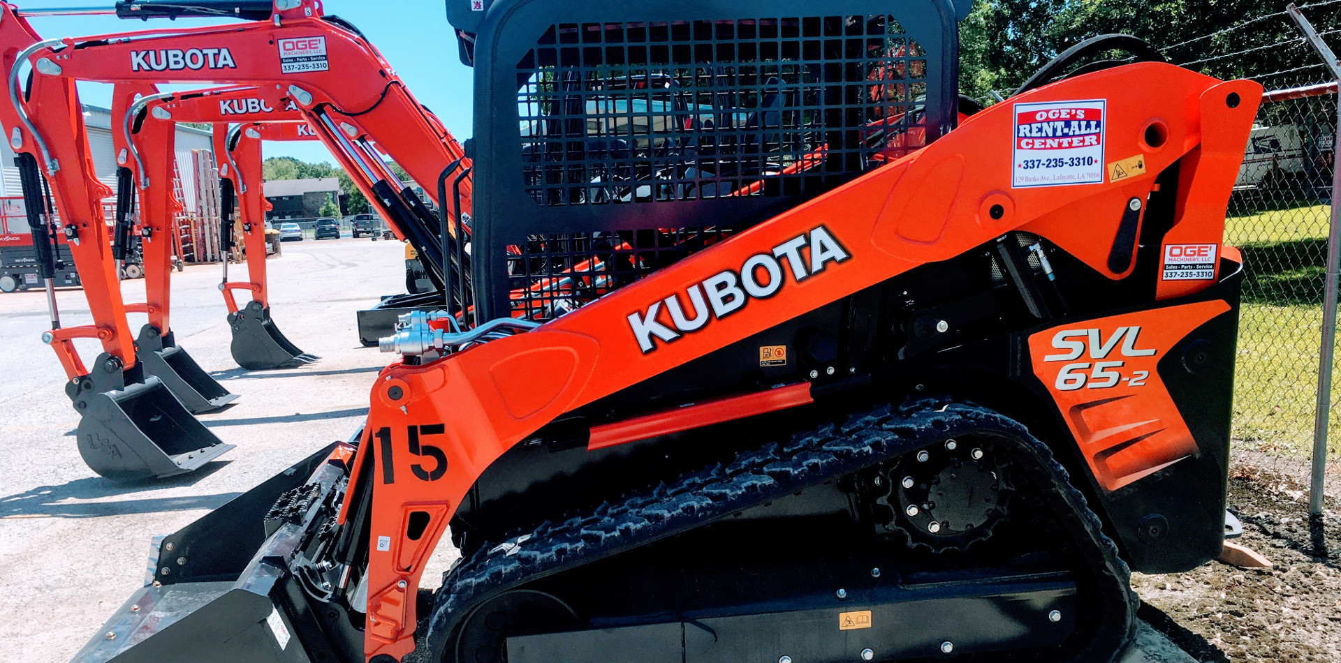 Construction Equipment & Tool Rentals in Lafayette Louisiana, Opelousas, Crowley, New Iberia, Lake Charles LA, Baton Rouge